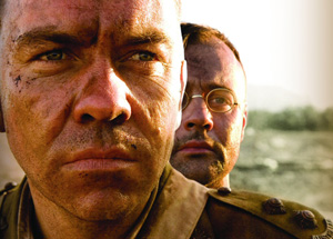 Brendan Cowell and Gyton Grantley in Beneath Hill 60