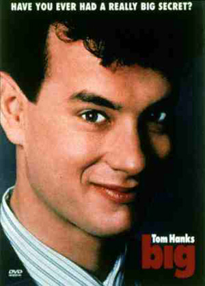 Tom Hanks in Big movie poster