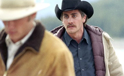 Brokeback Mountain Heath Ledger Jake Gyllenhall Fight