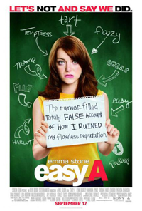 Easy A Movie Poster Emma Stone Olive Penderghast