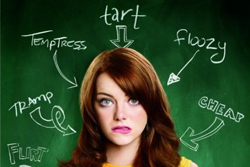 Easy A movie poster Emma Stone