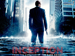 Inception movie poster Leonardo DiCaprio