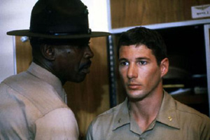 An Officer and a Gentleman Zac Mayo Foley Richard Gere Lou Gossett Jr Boots