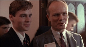 Dead Poets Society Neil Perry and his father Robert Sean Leonard
