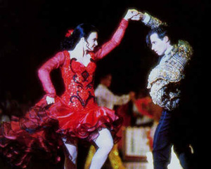 Strictly Ballroom Paul Mercurio Tara Morice Scott Fran Dancing PasoDoble
