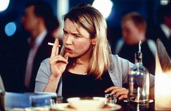 Bridget Jones's Diary Renee Zellweger Smoking