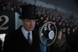 The Kings Speech Bertie Colin Firth Empire Games Humiliation Wembley Big Microphone