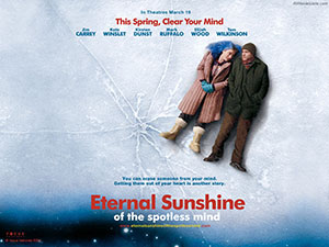 Now we're talking ... big idea, strong characters, great story, something to say ... Eternal Sunshine pulled an audience and will charm audiences for ever.