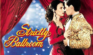 Strictly Ballroom movie poster - Paul Mercurio and Tara Morice