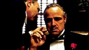 The Godfather Don Corleone Marlon Brando Robert Duvall