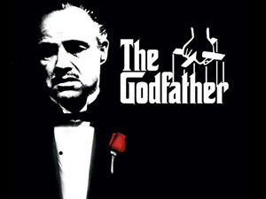 The Godfather movie poster - Marlon Brando as Don Corleone