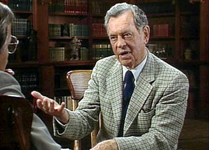 Joseph Campbell being interviewed for The Power of Myth