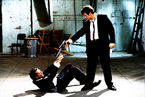 Mexican stand-off Reservoir Dogs Harvey Keitel vs Steve Buscemi