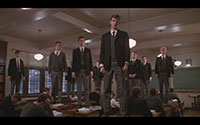 Dead Poets Society Climax - Boys stand on their desks -