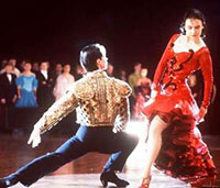 Strictly Ballroom Scott (Paul Mercurio) and Fran (Tara Morice) do the Paso Doble