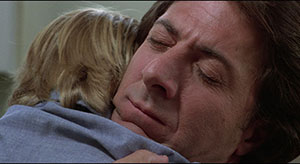 Kramer vs Kramer Ted (Dustin Hoffman) hugs Billy just before he is about to surrender him